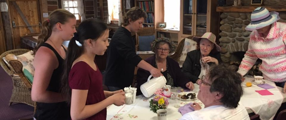 Mother's Day Tea at the Senior's Drop In Center