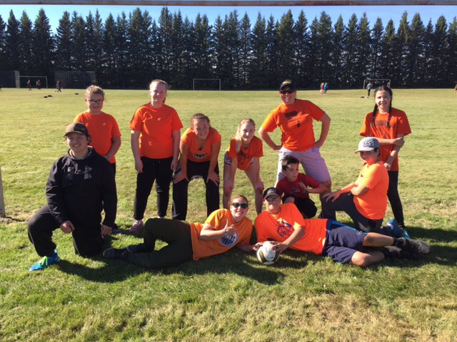 "Rocking Orange Shirt Day ""Every Child Matters"" at the JH Soccer Tournament"