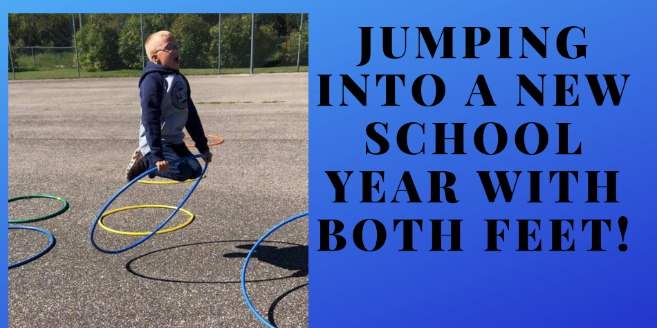 Jumping into a new School Year!