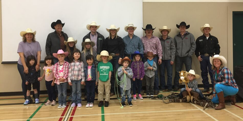 Western Day Kindergarten with Wildrose Cowboys