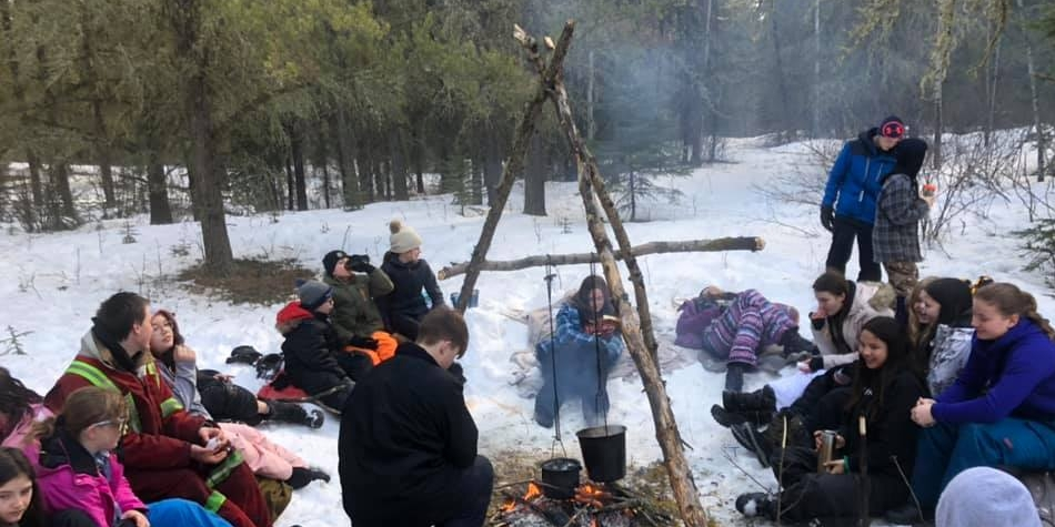 CTF Outdoor Ed Snowshoe Trip
