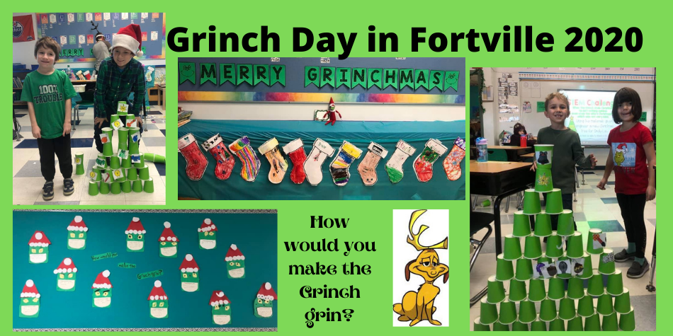 Grinch Day in Fortville