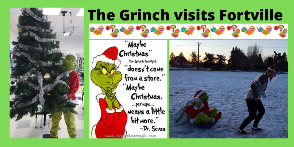 The Grinch visits Fortville