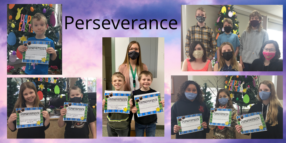 March Virtue – Perseverance