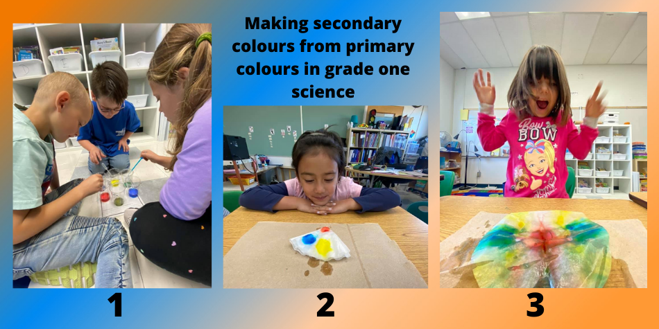 Making Secondary Colours